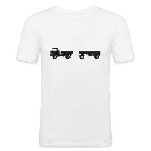 IFA LKW W50 LA 3 SK mit HW80 - Männer Slim Fit T-Shirt