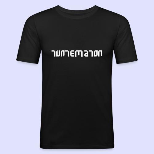 Teippilogo - Miesten tyköistuva t-paita