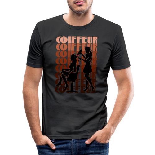 Coiffeur - Männer Slim Fit T-Shirt