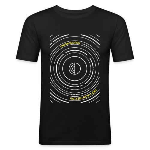 Onion Routing - Men's Slim Fit T-Shirt