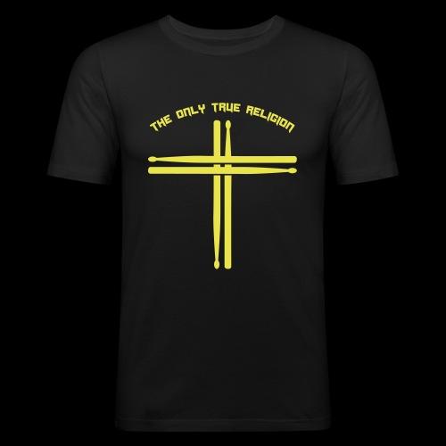 True Religion - Männer Slim Fit T-Shirt