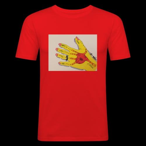 9D8D600F D04D 4BA7 B0EE 60442C72919B - Herre Slim Fit T-Shirt