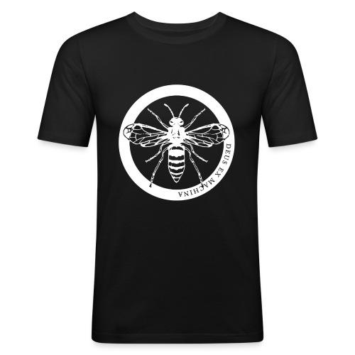 waspcleanwhite1500x300dpi - Men's Slim Fit T-Shirt