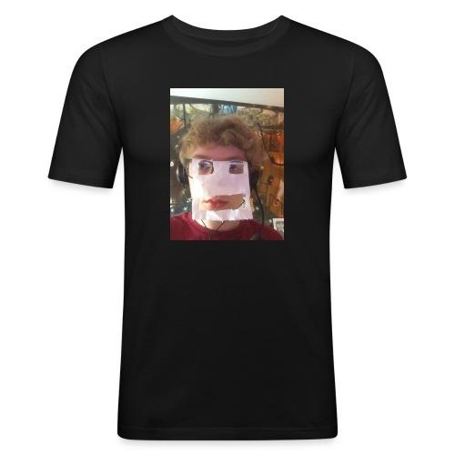 Cyberman Isaac - Men's Slim Fit T-Shirt