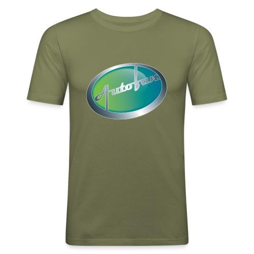 Autofan groen - slim fit T-shirt