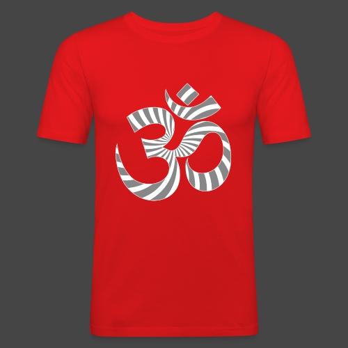 Om Aum Tekno 23 - T-shirt près du corps Homme
