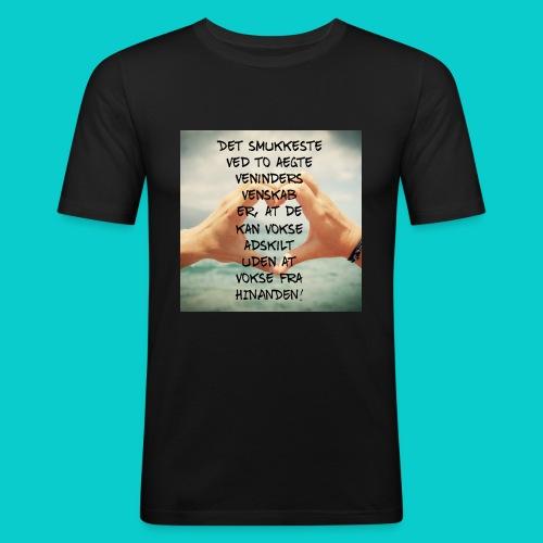 Bedste veninder - Herre Slim Fit T-Shirt