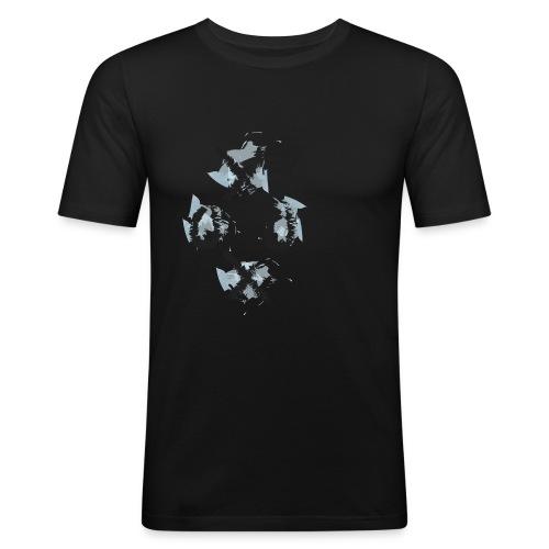 oxox - Miesten tyköistuva t-paita