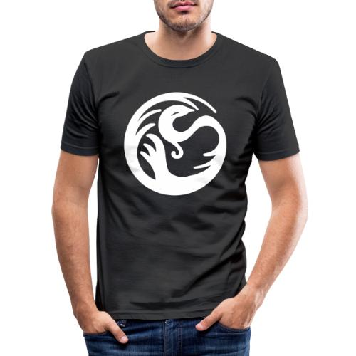 Fabelwesen weiss - Männer Slim Fit T-Shirt