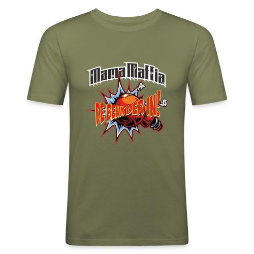 De Beuk Der in - Mannen slim fit T-shirt