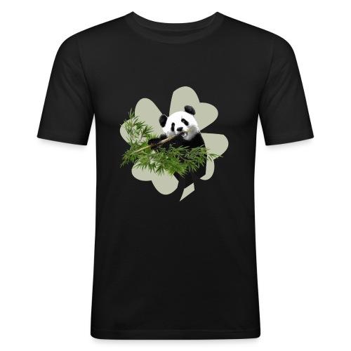 My lucky Panda - T-shirt près du corps Homme