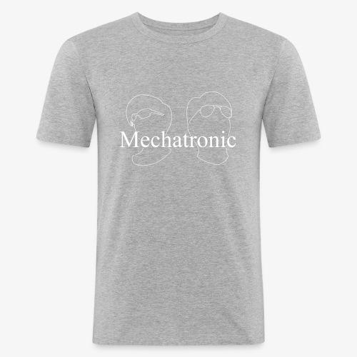 Mechatronic Logo - Slim Fit T-shirt herr