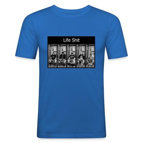 LifeShit - T-shirt près du corps Homme
