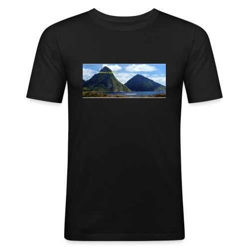 believe in yourself - Men's Slim Fit T-Shirt