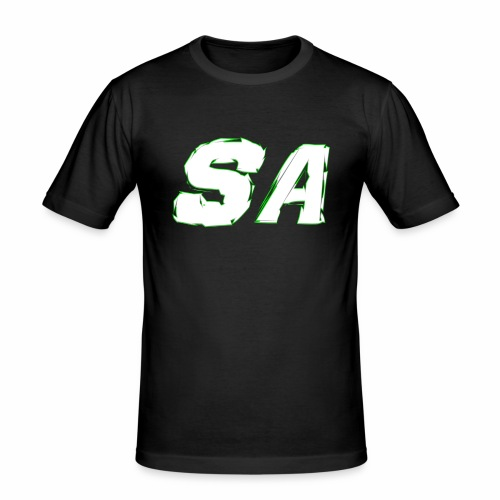 Vit SA Logo - Slim Fit T-shirt herr