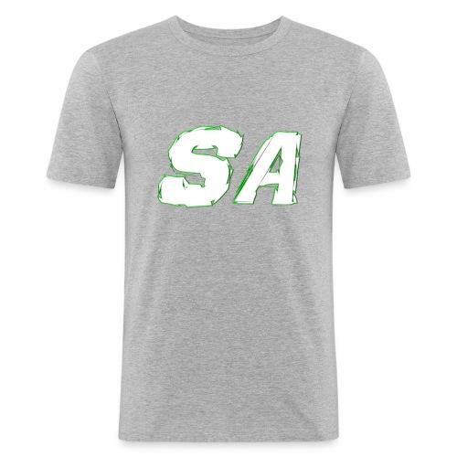 Vit SA Logo - Slim Fit T-shirt herr