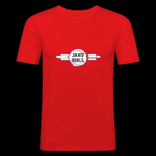 GLITCH SERIES - Mannen slim fit T-shirt