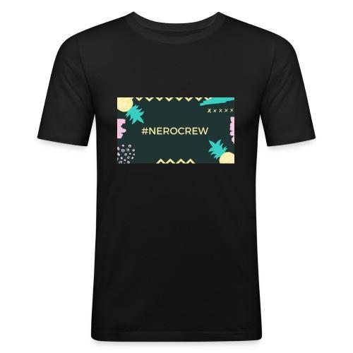 Nerocrew - Männer Slim Fit T-Shirt