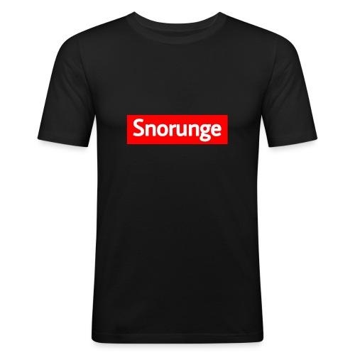 Snorunge 2018 - Slim Fit T-shirt herr