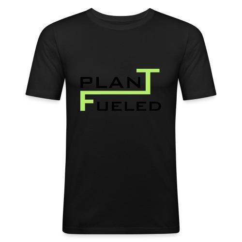 PLANT FUELED - Männer Slim Fit T-Shirt