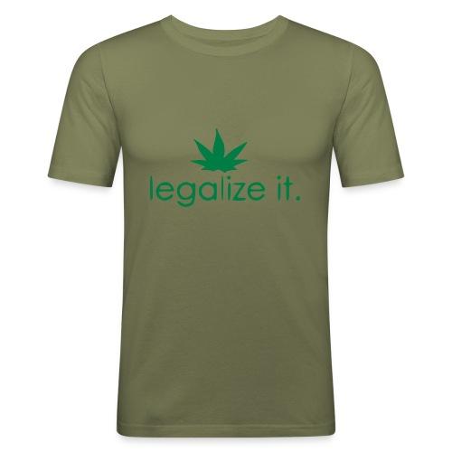LEGALIZE IT! - Men's Slim Fit T-Shirt