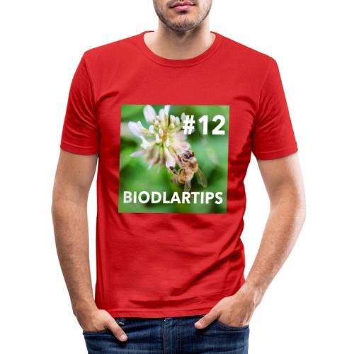 Biodlartips #12 - Slim Fit T-shirt herr