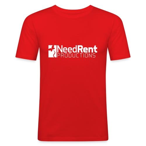 NeedRent Produktions - Herre Slim Fit T-Shirt