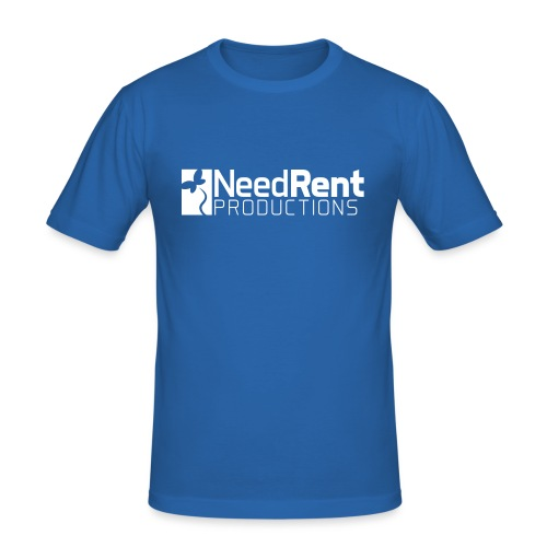 NeedRent Produktions - Herre Slim Fit T-Shirt