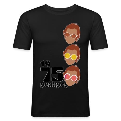 Elton PunkPop 1975 - Maglietta aderente da uomo