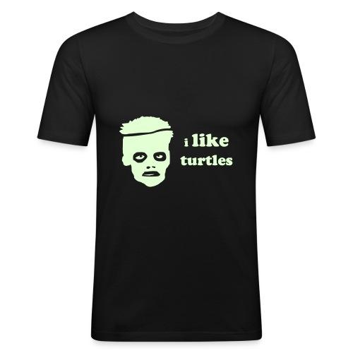 iliketurtles2 - Men's Slim Fit T-Shirt
