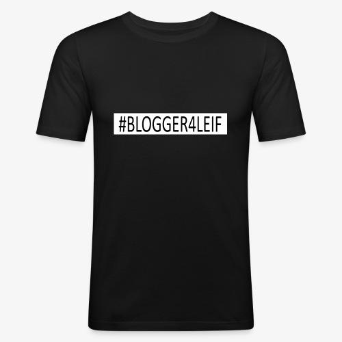 #Blogger4leif - Herre Slim Fit T-Shirt