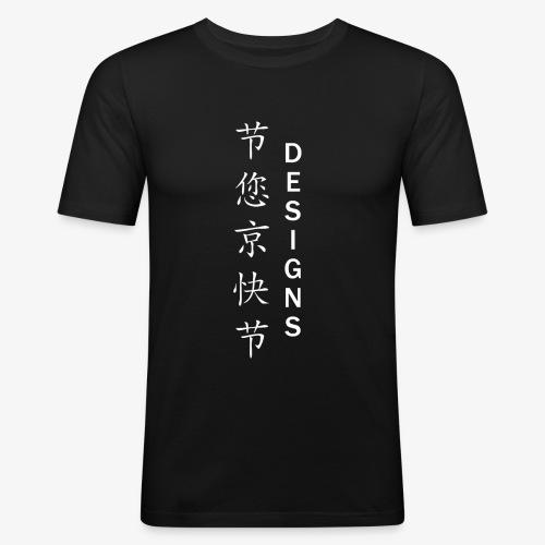 Japanese Exile Designs - Men's Slim Fit T-Shirt