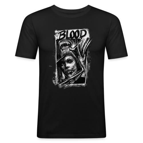 BLOOD. Dark Style - Männer Slim Fit T-Shirt