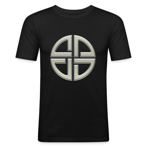 Schildknoten, Keltischer Knoten, Thor Symbol - Männer Slim Fit T-Shirt