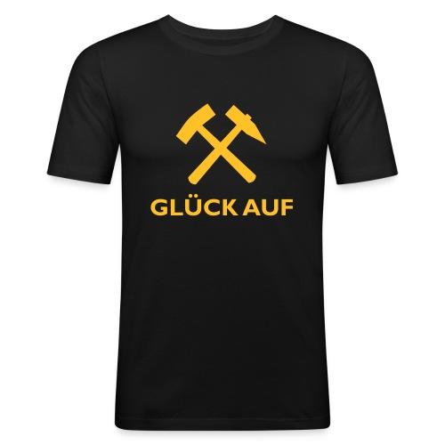 Glück Auf! - Männer Slim Fit T-Shirt