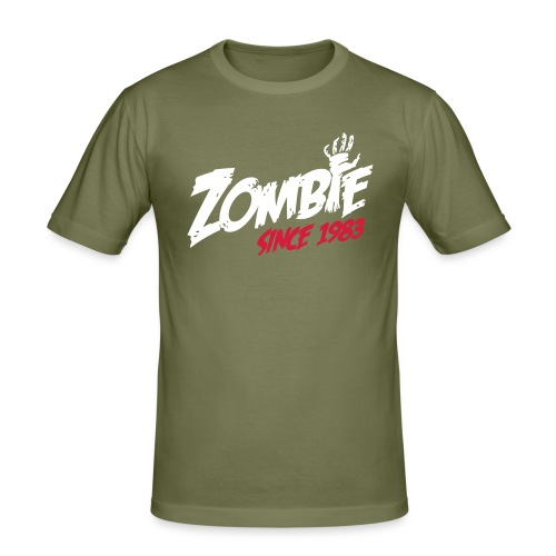 Zombie since 1983 - slim fit T-shirt