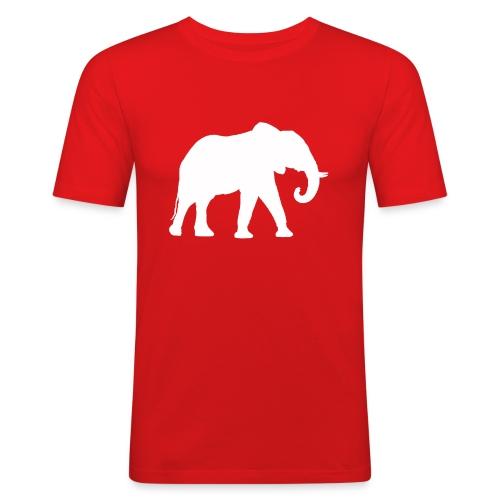 Larry Fitzpatrick X Proboscidea - Männer Slim Fit T-Shirt