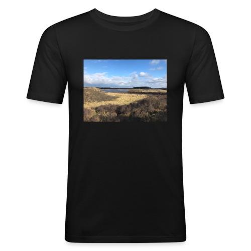 KARA-duinen - Mannen slim fit T-shirt