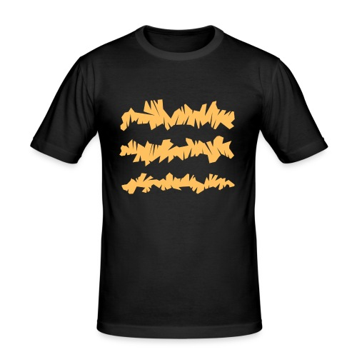 Orange_Sample.png - Männer Slim Fit T-Shirt