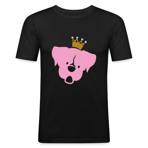 Prinz Poldi rosa - Männer Slim Fit T-Shirt