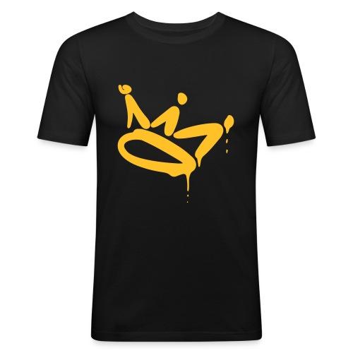 Ik ben Crown v2 - Mannen slim fit T-shirt