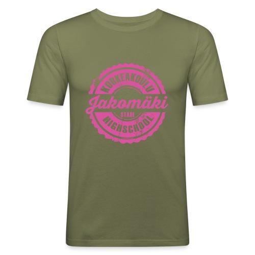 77P-JAKOMÄEN KORKEAKOULU - Stadi, Helsinki - Miesten tyköistuva t-paita