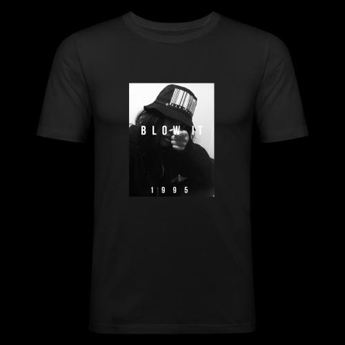 BLOW IT 1995 STREETWEAR - Maglietta aderente da uomo