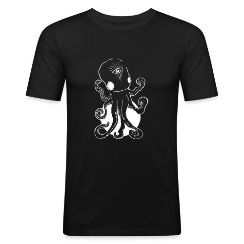 Alien octopus - Men's Slim Fit T-Shirt