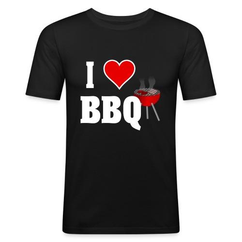 BBQ Barbecue - Männer Slim Fit T-Shirt