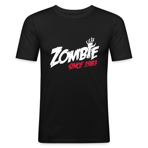 Zombie since 1983 - Mannen slim fit T-shirt