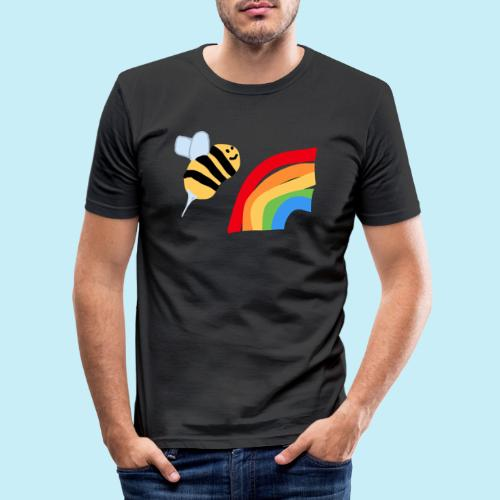 BEe Gay - T-shirt près du corps Homme