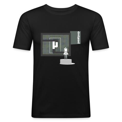 TripHop PH PunkPop - Maglietta aderente da uomo
