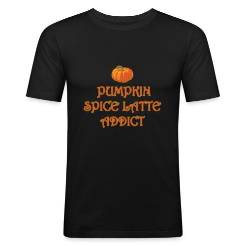 PumpkinSpiceAddict - Maglietta aderente da uomo
