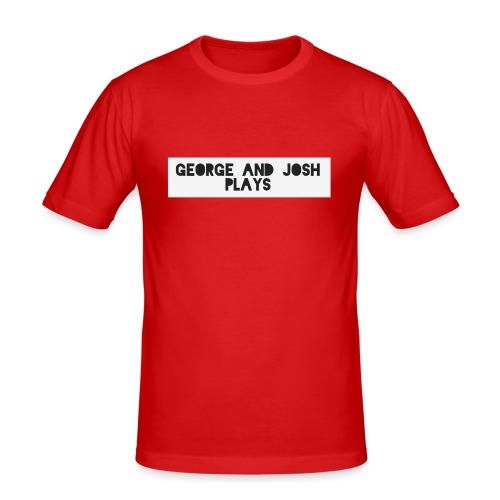 George-and-Josh-Plays-Merch - Men's Slim Fit T-Shirt
